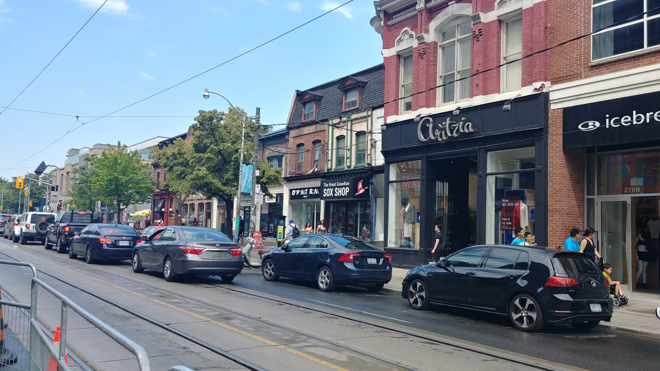 Queen St. West, Toronto, Ontario