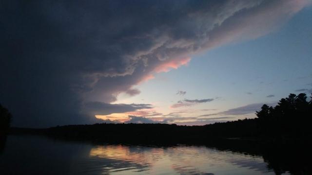 Incoming storm - Horseshoe Lake, Arden ON