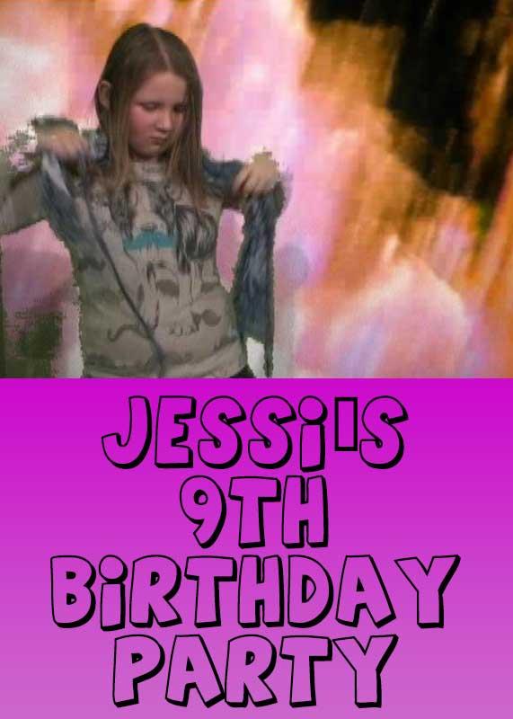 Jessi's 9th Birthday